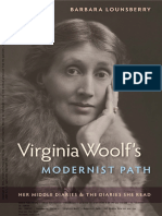 Virginia Woolf's Modernist Path Her Middle Diaries and the Diaries She Read