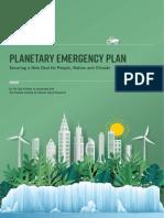 Club Of Rome Declares Planetary Emergency Plan