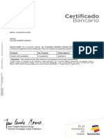 Referencia Bancaria