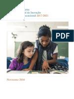 Diretrizes para uma Política Nacional de Inovação e Tecnologia Nacional 2017-2021