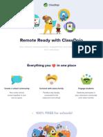 ClassDojo Intro DojoDeck 2020