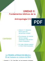 UNIDAD II FUNDAMENTOS BIBLICOS DE LA AC.pptx