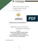 FORMATO INFORME PSICOLOGICO