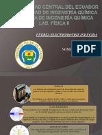 Fundamento Conceptual - FUERZA ELECTROMOTRIZ INDUCIDA
