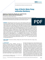 SM-PI Control Strategy of Electric Motor-Pump for Pure Electric Construction Machinery