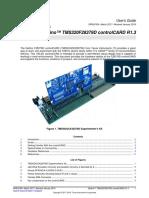 Delfino™ TMS320F28379D controlCARD R1.3