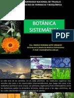 Semana 5 Seminario Clase de Botánica Sistemática