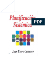 Juan Bravo - Planificación Sistémica