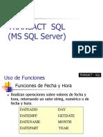 transact sql server 2014