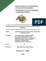 INFORME PROPIEDADES FUNCIONALES Y NUTRACEUTICAS CERVEZA