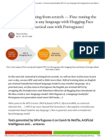 Faster than training from scratch — Fine-tuning the English GPT-2 in any language with Hugging Face and fastai v2 (practical case with Portuguese) _ by Pierre Guillou _ Jul, 2020 _ Medium.pdf