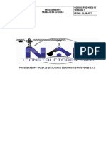 PRD-HSEQ-14 PROCEDIMIENTO DE TRABAJOS EN ALTURAS
