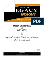 Legacy Insight Battery Charger Service Manual -Models LI3 and LI3C
