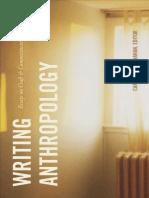 Carole McGranahan (editor) - Writing Anthropology_ Essays on Craft and Commitment-Duke University Press Books (2020).pdf