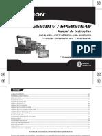 Manual SP6551DTV