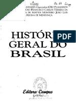 História Geral do Brasil - Maria Yedda