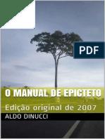 O Manual de Epicteto_ Edicao or - Aldo Dinucci