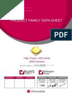 LG 3535 LED Product Family Data Sheet