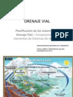 2 Clase  Planificación de los sistemas de drenaje Vial  DRENAJE VIAL