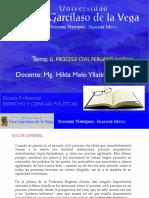 TEORIA GENERAL DEL PROCESO (P)