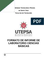 Informe laboratorios de Ciencias Básicas 4