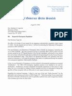 Gov. Sisolak response