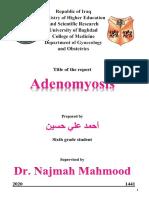Ahmed Ali - Adenomyosis