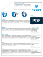 Hoope one pager (Spanish)