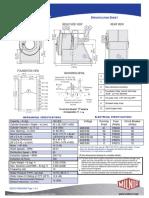 Milnor 42026 V6Z Specification
