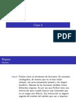 Procesamiento Natural del Lenguaje clase4