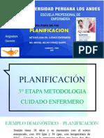 UPLA MCE 2019    11°  PLANIFICACION   NOC   2019    casos OBJETIVOS