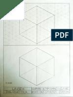 cubo espacial - proyecciones
