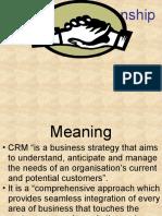 LCM-MBA CUSTOMER RELATIONSHIP MGMT