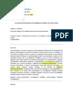 TEORÍA DEL CONOCIMIENTO EN INVESTIGACIÓN CIENTÍFICA (1)