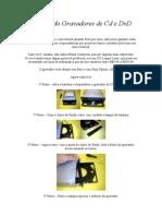 Reparando Gravadores de Cd e DvD