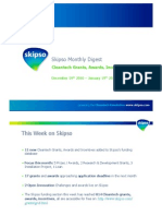 Cleantech Grants, Awards, Incentives - Monthly Update (Jan 2011)