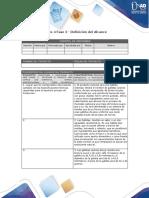 Anexo 4 - Fase 2 Elaborar Linea Base de Alcance