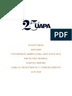 TAREA II PSICOLOGIA GENERAL