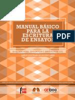 Anguiano et al. (2012). Manual básico para la escritura de ensayos,-98