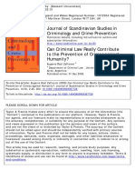 Journal of Scandinavian Studies in Criminology and Crime Prevention Volume 10 issue sup1 2009 [doi 10.1080_14043850903367728] Zaffaroni, Eugenio Raúl -- Can Criminal Law Reall.pdf