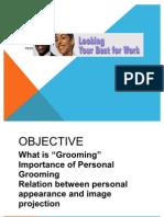 LCM-MBA Seminar Grooming