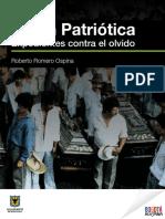 Unión Patriótica. Expedientes contra el olvido - Roberto Romero.pdf
