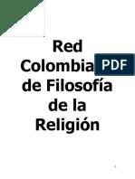 La Red Colombiana de Filosofía de la Religión