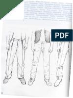 Calças masculinas sistema esmod