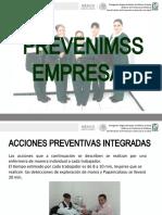 ACCIONES PREVENTIVAS INTEGRADAS     PREVENIMSS EMPRESAS.ppsx