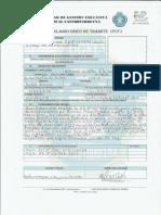 SOLICITUD DE MODIFICATORIA - Alfonso Flores Cuba 1248 MEMO ANDRES CRUSE DE INFORMACION SIST. PLANILLAS