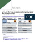 Fichas de seguridad de Tintas de impresión y revelador de planchas