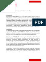 4.Descarga la información completa sobre la licencia y condiciones de uso