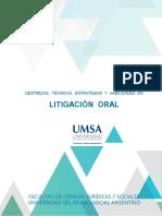 Manual del alumno de Litigacion Oral UMSA