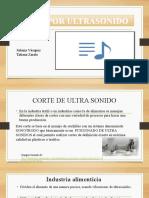 CORTE DE ULTRA SONIDO
